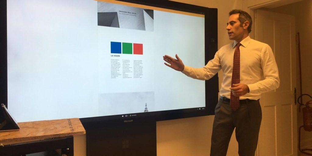 Presentazione RED CUBE FUNDING alla Luiss Business School